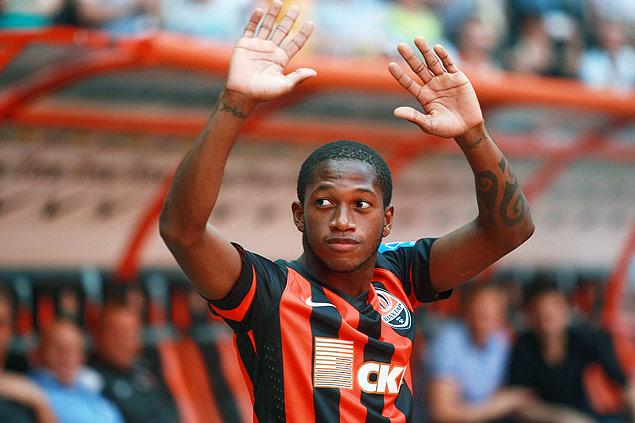 Fred foi revelado pelo Inter e atua no Shakhtar Donetsk (crédito: Alexander Khudoteply/AFP)